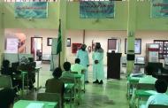 مساعد مدير مكتب التعليم في شمال حائل للشؤون التعليمية يتفقد سير الإختبارات في مدرسة متوسطة الخطة