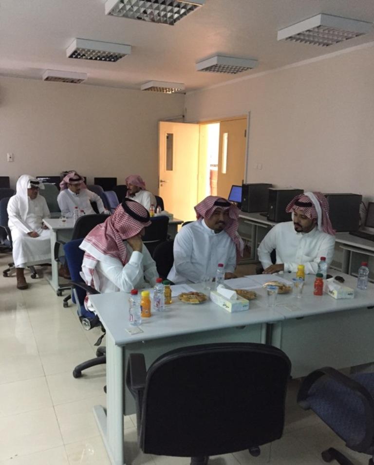 ورشة عمل مشكلات في تعليم اللغة العربية بمكتب تعليم جنوب حائل